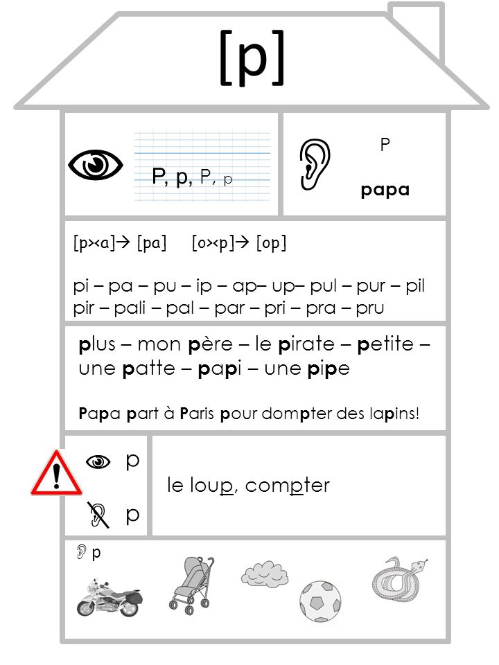 [p]   P. papa. P, p, P, p. [p><a] [pa] [o><p] [op] pi – pa – pu – ip – ap– up– pul – pur – pil pir – pali – pal – par – pri – pra – pru.